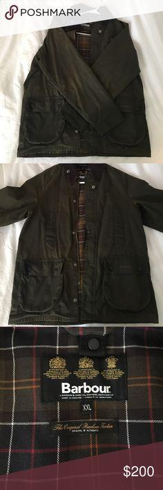Barbour Wax Jacket Xxl