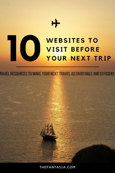 Trip planning can be incredibly intimidating, for a good reason too. That's why travel agents exist as the middleman between us, and the airline companies or hotels and their job is to make sure that you do as little work as possible when it comes to the logistics. Here are my favourite travel websites to plan my trip.