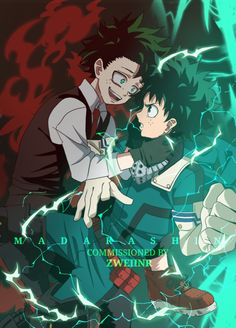 Bösewicht deku - My Hero Academia Boku No Hero Academia, My Hero Academia Memes, Hero Academia Characters, My Hero Academia Manga, Villain Deku, The Villain, Deku Anime, Deku Cosplay, Character Art