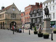 Shrewsbury, UK travel here regularly  to visit my father