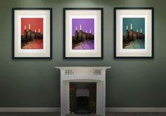 Original Artwork from Czar Catstick, BigFatArts.com.... London Colours Series- Czar Catstick, BigFatArts.com