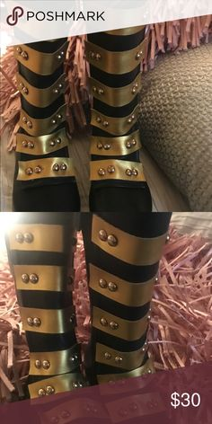 Military style boutique boots Girls boutique style military boots. Super cute, size 10 never worn. Ordered fro online boutique. You will ♥️ these. NEVER WORN! Shoes Boots