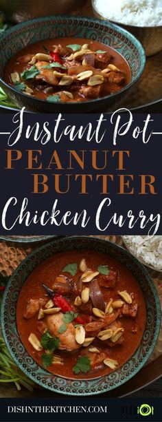 Tired of searching for dinner inspiration? Havent found that ultimate chicken curry recipe yet? Stop searching around be Easy Soup Recipes, Curry Recipes, Chicken Recipes, Savoury Recipes, Butter Chicken Curry, Peanut Butter Chicken, Instant Pot Pressure Cooker, Pressure Cooking, Cooker Recipes