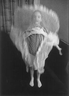 "Sylvia Plachy  Gabrielle  black & white photograph  14"" x 11"""