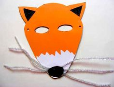 Have a go at this Fantastic Mr Fox Mask when you are enjoying the book or celebrating Roald Dahl day! Roald Dahl Activities, Bfg Activities, Letter Activities, Roald Dahl Day, Zoo Phonics, Theme Forest, Forest Party, Fox Crafts, Animal Crafts