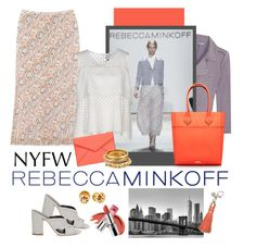 """""""Rebecca Minkoff.... Style"""" by carola-corana ❤ liked on Polyvore featuring Rebecca Minkoff, Brewster Home Fashions, women's clothing, women, female, woman, misses, juniors, contestentry and seebuywear"""