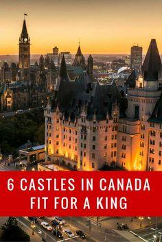 Canadian castles and forts | 6 Castles in Canada http://travel2next.com/canadian-castles-forts-6-castles-canada/?utm_campaign=coschedule&utm_source=pinterest&utm_medium=Travel%202%20Next&utm_content=Canadian%20castles%20and%20forts%20%7C%206%20Castles%20in%20Canada