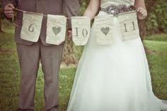 vintage wedding banner!