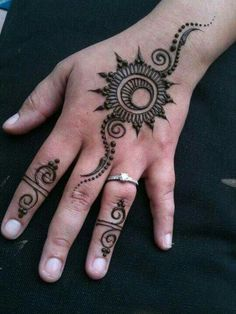 In our school we were not allowed to apply mehndi even during Eid because the brownish orange colour of henna would stay for atleast 2 wee. Mehndi Designs For Beginners, Beautiful Henna Designs, Mehndi Designs For Fingers, Mehndi Art Designs, Mehndi Patterns, Latest Mehndi Designs, Simple Mehndi Designs, Henna Tattoo Designs, Henna Designs For Men