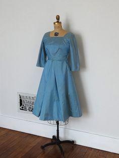 Vintage 50s Dress  1950s Cocktail Dress  The by BohemianBisoux