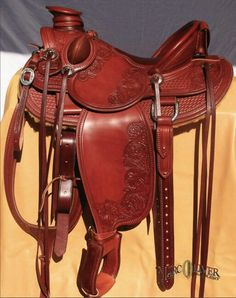 Cedar Mountain Wade - Custom Saddles, tack and accessories, Dog Collars Cowboys And Angels, Cowboys And Indians, Faster Horses, Into The West, Western Saddles, Western Tack, All About Horses, Cowboy And Cowgirl, Horse Tack