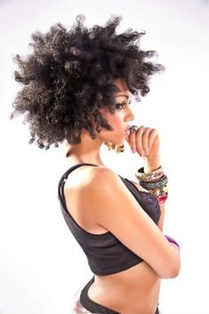Afro sexiness, can't wait until my hair is this long. Pelo Natural, Natural Curls, Natural Hair Care, Natural Hair Styles, Au Natural, Natural Beauty, Natural Texture, Pelo Afro, Natural Hair Inspiration