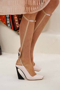 shoes @ Christian Dior Spring 2014 Couture