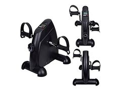 Exercise Bike Mini Pedal Exerciser Cycle Fitness Indoor 4 Legs -- Check this awesome product by going to the link at the image.