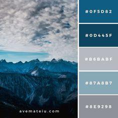 New Bedroom Vintage Rustic Color Palettes Ideas Color Palette For Home, Color Schemes Colour Palettes, Blue Colour Palette, Dark Blue Color, Bedroom Color Schemes, Bedroom Colors, Red Purple, Grey Color Schemes, Blue Color Combinations