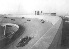 All ramped up.  Rooftop, Lingotto building. Turin 1923