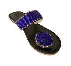 Us 6-10 Indian Women Shoes Handmade Sandals Leather Slippers Flip-Flops Flat