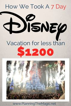 Doing Disney on a budget is very far from impossible. In fact, I suggest it for anyone who truly wants full control of their vacation. Being aware of your vacation budget is recommended. I put together tips for going to Disney on a budget to help anyon Disney On A Budget, Disney World Vacation Planning, Walt Disney World Vacations, Disney Planning, Trip Planning, Vacation Ideas, Disney Travel, Family Vacations, Disney Parks