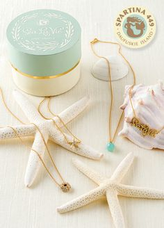 Show your beachy side at Prom with a Spartina Necklace. Check out our selection of Perfectly Prom necklaces at Coastal Living!