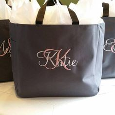 Hey, I found this really awesome Etsy listing at https://www.etsy.com/listing/120998521/8-bridesmaid-gift-personalized-tote-bag
