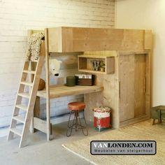 living room ideas – New Ideas Dream Bedroom, Kids Bedroom, High Sleeper, Small Room Design, Kidsroom, New Room, Pallet Projects, Bunk Beds, Relax