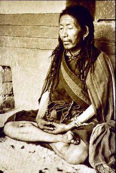 Tibetan yogi (naljorpa).