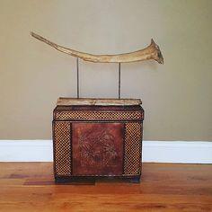 Driftwood Rhino Horn, Driftwood Sculpture, Driftwood Art, Safari Art, Interior Design, Natural Art, Lake Art, Home Decor,  Wood Sculpture