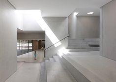 Swiss kindergarten housed in quartet of concrete blocks