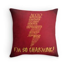 A new Harry Potter Pillow!