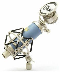 Blue Bluebird studio condenser mic - transformerless design #blue #microphone #thomann