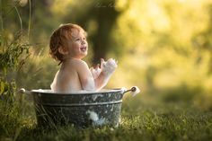 Baby in a Bucket by Adrian C. Murray on 500px