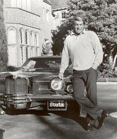 Dean Martin with his Stutz--great looking no matter his age!!!