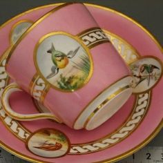 Copeland  late 19th century ~ Would love to have a complete set of these dishes.