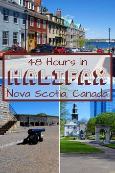Discover the top things to do in Halifax, Nova Scotia if you have 48 hours in the city. Visit the Historic Pier Halifax Waterfront, Halifax Citadel, Fairview Lawn Cemetery, take a Brewery Tour and the Halifax Transit Ferry to Pretty Dartmouth [. Dartmouth Nova Scotia, Halifax Citadel, Halifax Waterfront, New England Cruises, Nova Scotia Travel, East Coast Road Trip, Canada Travel, Canada Trip, New York Travel