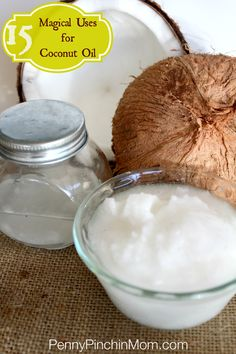 Has anyone ever told you that Coconut oil is magical? Seriously it is a super source. You can use Coconut Oil for EVERYTHING – from cooking, beauty treatment to healing skin infections! Click over for a list of 15 MUST KNOW uses for this awesome oil!