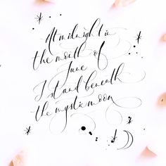 Lamplighter London - Modern Calligraphy - Edgar Allan Poe - Quote