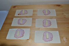 Myra's kitchen: Pateuri cu sunca si cascaval Plastic Cutting Board, Kitchen, Cooking, Kitchens, Cuisine, Cucina