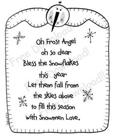 Oh Frost Angel...