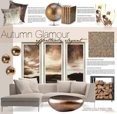 """Autumn Glamour"" by nyrvelli on Polyvore"