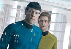"""""""Star Trek: Into Darkness"""" is fantastic. Definitely one to see on the big screen."""