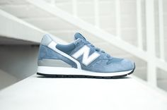 "New Balance 996 ""Steel Blue"" (Made in USA) - EU Kicks: Sneaker Magazine"