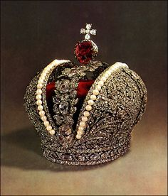 Imperial Crown Of Russia | the great russian imperial crown