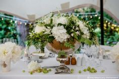 L & B wedding, table decorations by Zita Elze, photo: Lucy Davenport