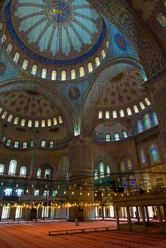 Blue Mosque ~ Istanbul, Turkey