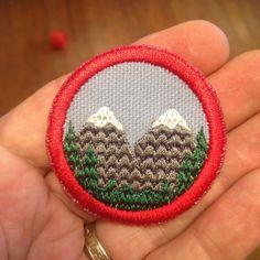 Twin Peaks merit badge $10.00