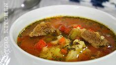 Ciorba de legume reteta simpla si rapida - Adygio Kitchen Thai Red Curry, Food And Drink, Cooking, Ethnic Recipes, Mai, Youtube, Kitchen, Recipes