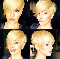 Modern Pixie Haircuts for Women