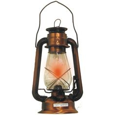"United General Supply 12"" Lone Star Electric Hurricane Lantern"