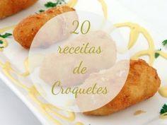20 receitas de Croquetes