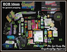 """61 items to pack in your """"Bug Out Bag"""" in case of an emergency..."""